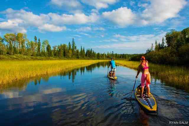 What makes the perfect SUP experience? The view? The people you are with? Or the feeling of freedom from the life's stresses? If you want to experience all of the above, it's highly recommended that you head out to Minnesota's Boundary Waters.