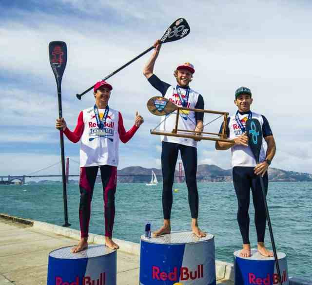 The Red Bull Heavy Water Race proved no match to the resilience of Casper Steinfath. The win comes off after a second place finish against teammateMo Freitas in Cold Hawaii and winning the 200-meter sprint in Denmark for 2017 ISA World Tour.
