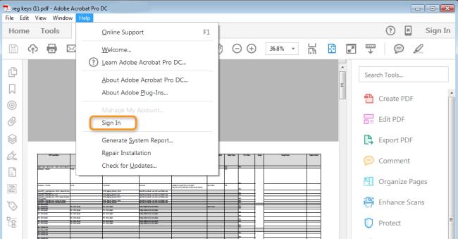 Adobe Acrobat Pro DC Crack   License Key Download Free 2019