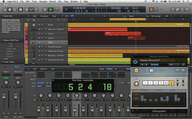 Logic Pro X 10.4.6 Torrent+ Serial Key MAC Win Free Download