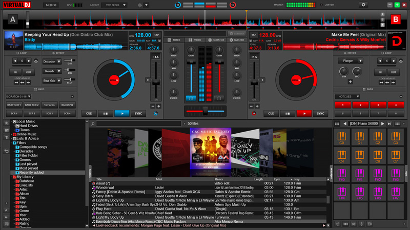 Virtual DJ 8 Pro 2020 Crack With Activation Key Full Free Download