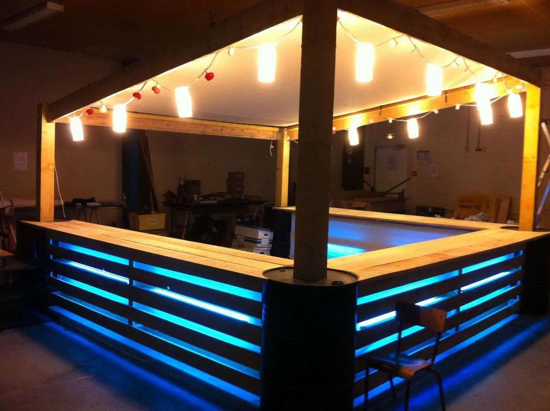Bar En Palette 14 Idees Rapides Et Faciles Pour L Apero Cet Ete Super Deco