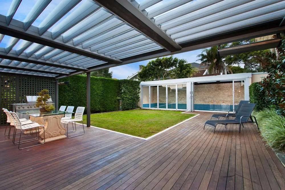 Terrasse Couverte Piscine Super Dco