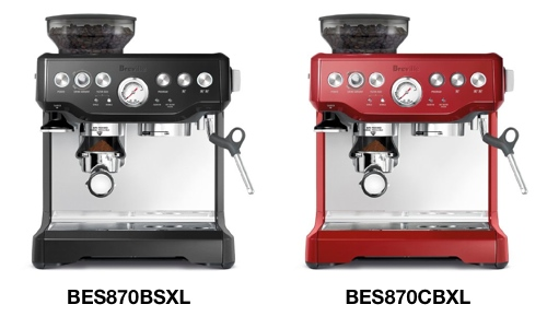 breville Barista Express red_black