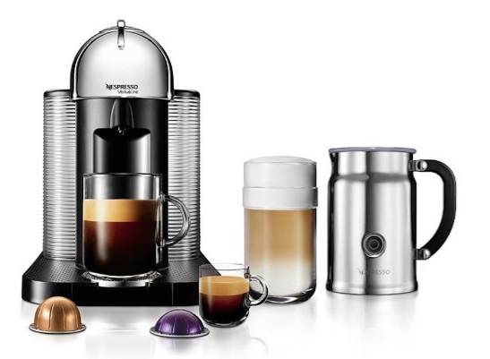 Nespresso Vertuo Bundle Chrome