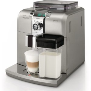 Saeco HD8838_47 Stainless Steel Syntia Cappuccino Machine