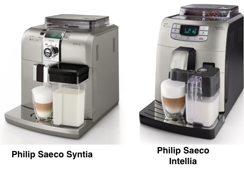 Saeco Syntia vs Intellia