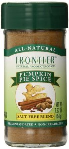 Frontier Pumpkin Pie Spice Salt-Free Blend