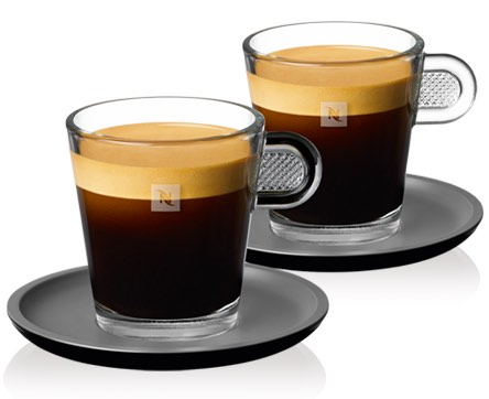 Nespresso Espresso Glass Set