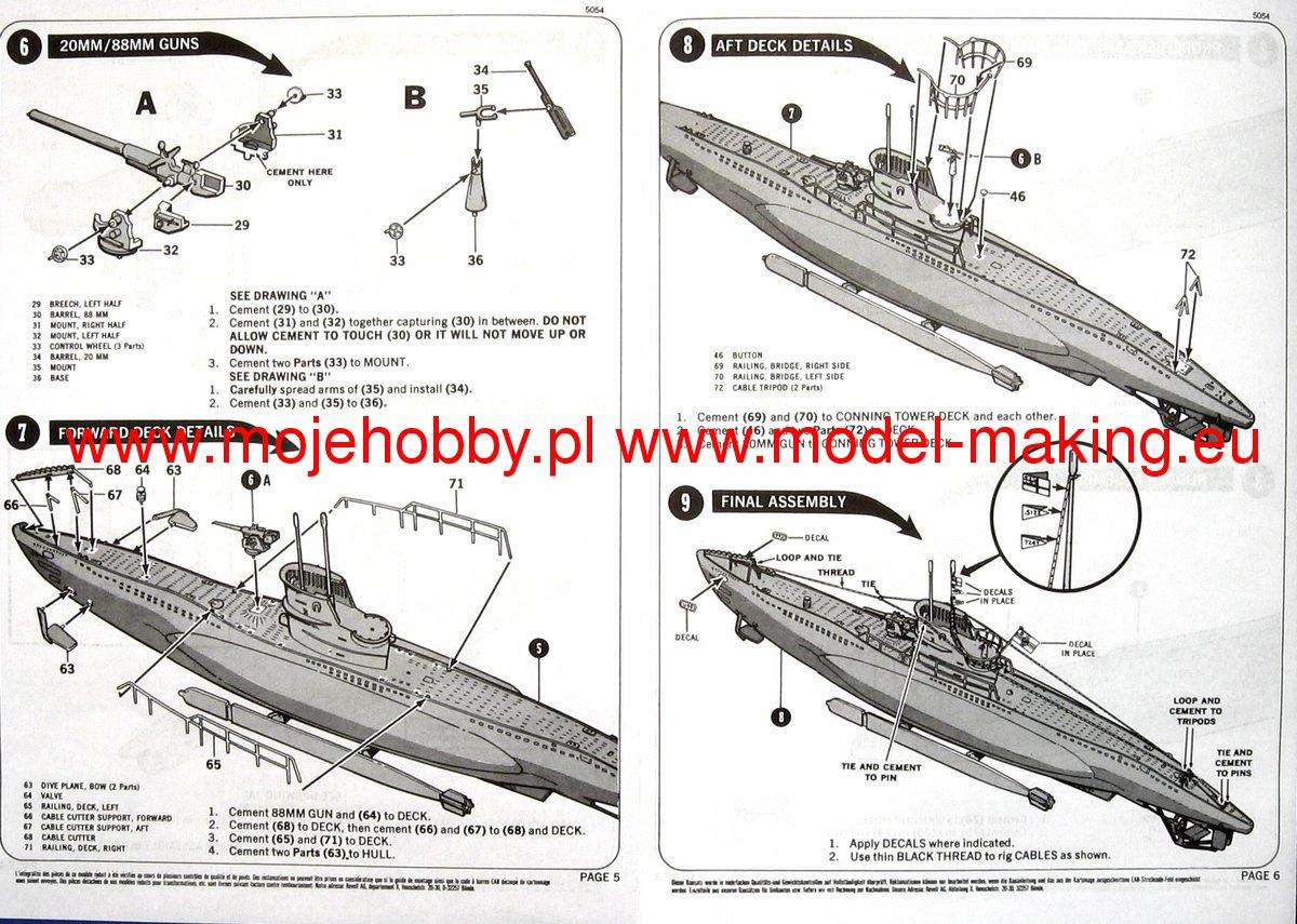 U99 U Boat Revell