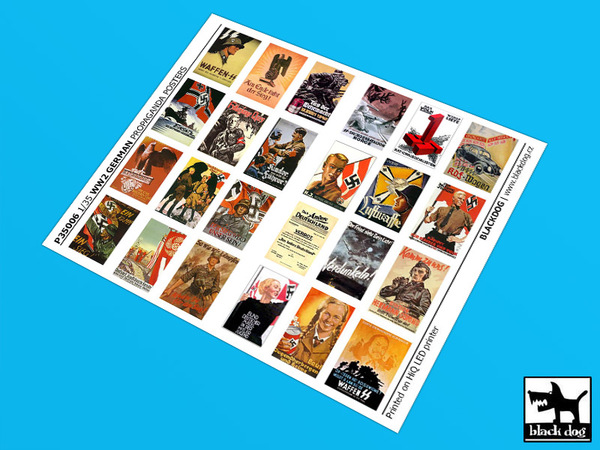 ww ii german propaganda posters 24 posters black dog p35006