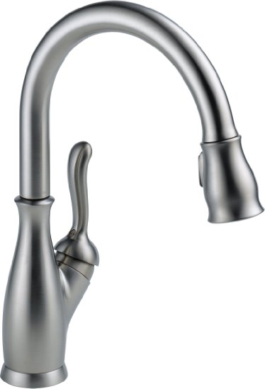 Delta Faucet 9178-AR-DST Leland Single Handle Pull-Down Kitchen Faucet