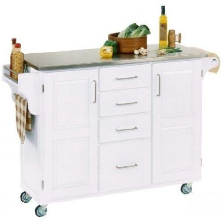 Home Styles Create-a-Cart Cabinet Kitchen Cart