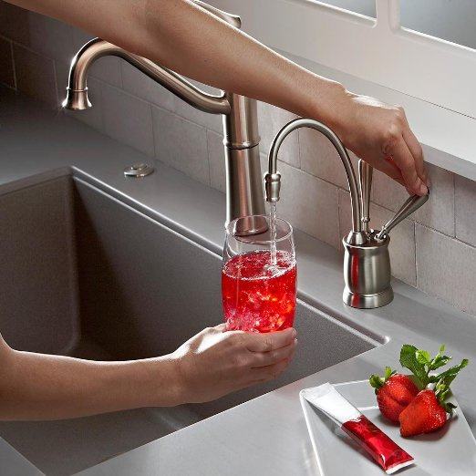 InSinkErator F-HC2215SN Indulge Tuscan Hot and Cold Water Dispenser_