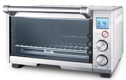 Breville BOV650XL Compact 4-Slice Smart Oven with Element IQ