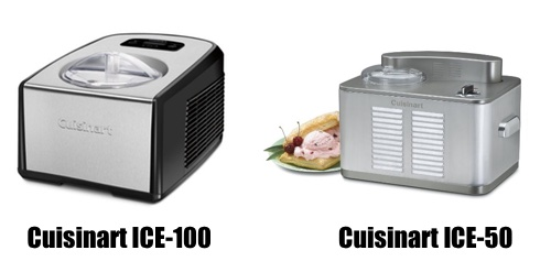 Cuisinart ICE 100 vs 50