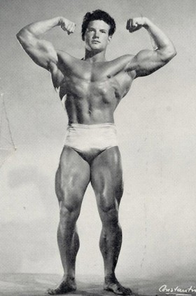 Natural Bodybuilder Steve Reeves