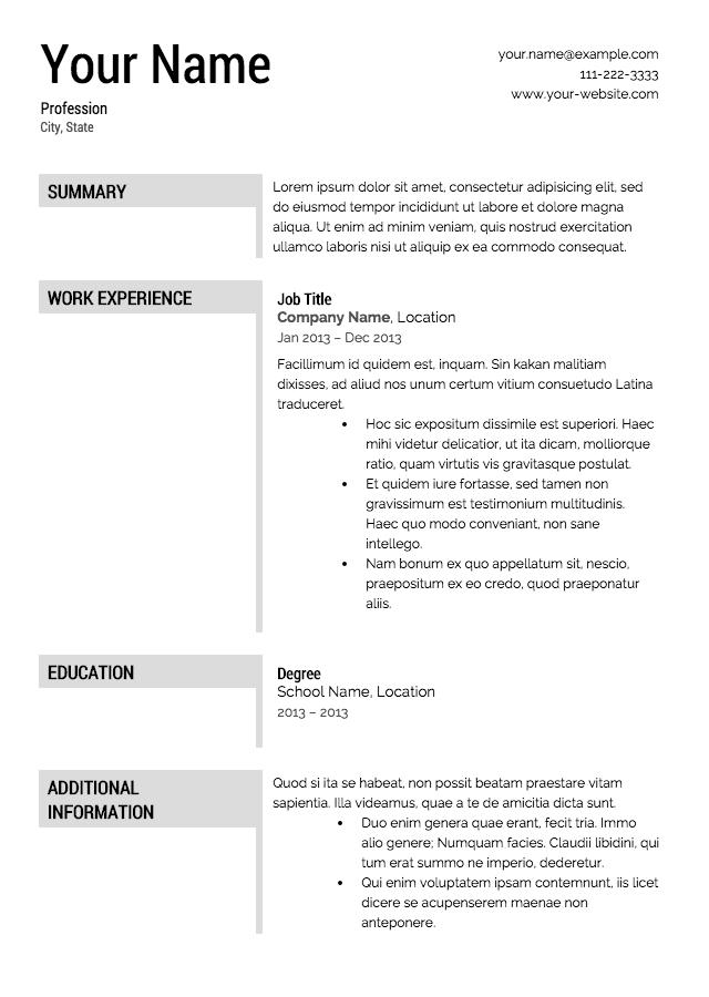 Academic Skills Academic CV Writing Faculty of Education create