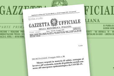 Gazzetta Ufficiale del 19 maggio 2020