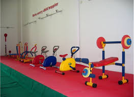 Indoor gym equipment for kids home gym
