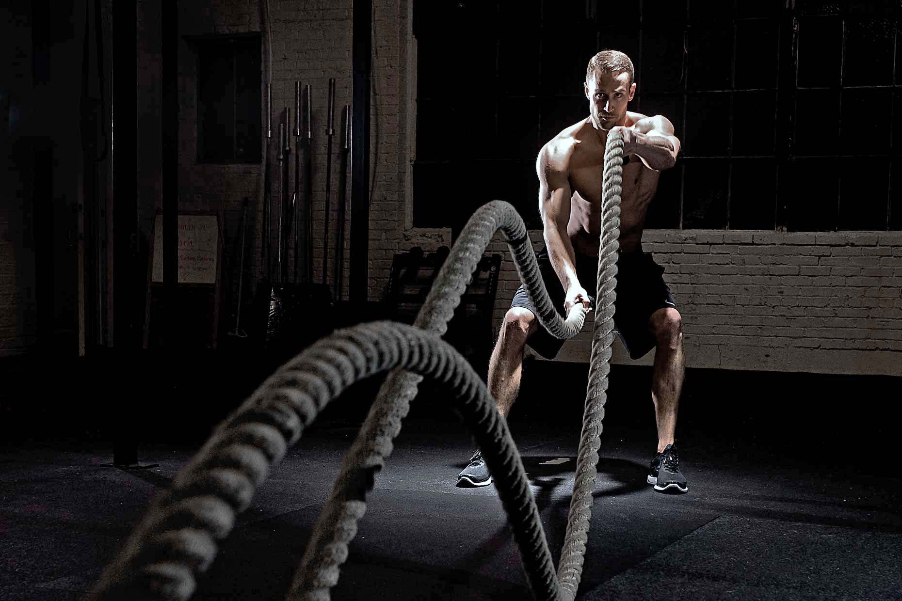CrossFit equipments for home use