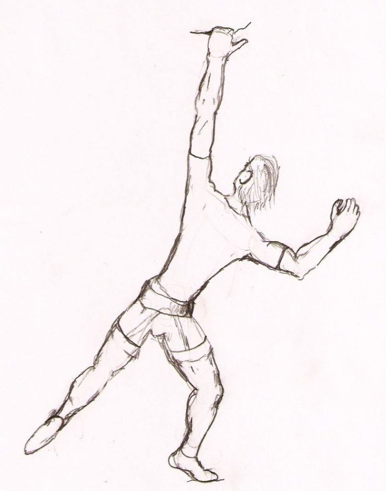 Arm Postures -rock climbing techniques