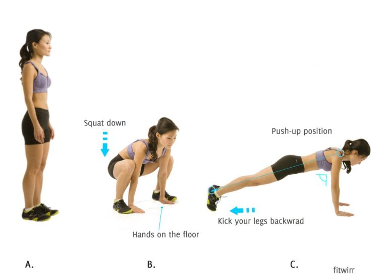 Sumo Squat Thrust-body sculpting