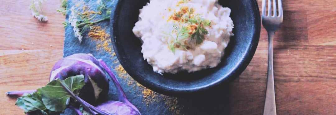 Le curry de chou-rave: du cru trop bon même en hiver