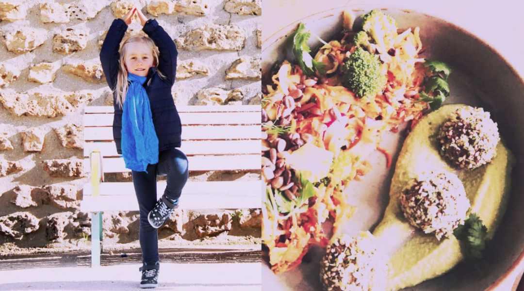 Participe à un atelier en famille : cuisine végétale et yoga famille