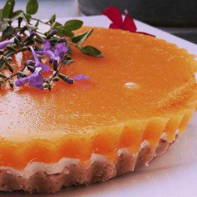 recette tarte miroir crue