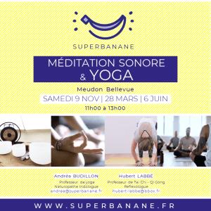 atelier méditation sonore yoga meudon