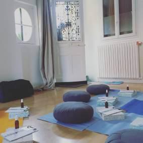 studio yoga meudon bellevue Andréa Budillon