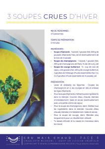 e-book cru mais chaud 10 recettes pour mettre du cru dans votre hiver crusine cuisine crue végétale saine naturopathie naturopathe