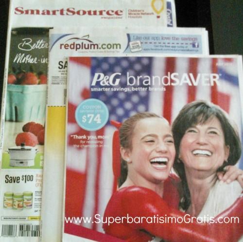 cupones del domingo, sunday coupons