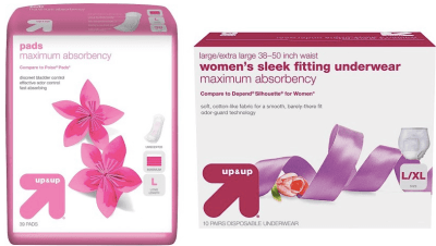 target-free-sample-up-up-women-pads-liners