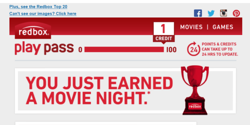 free redbox movie play pass