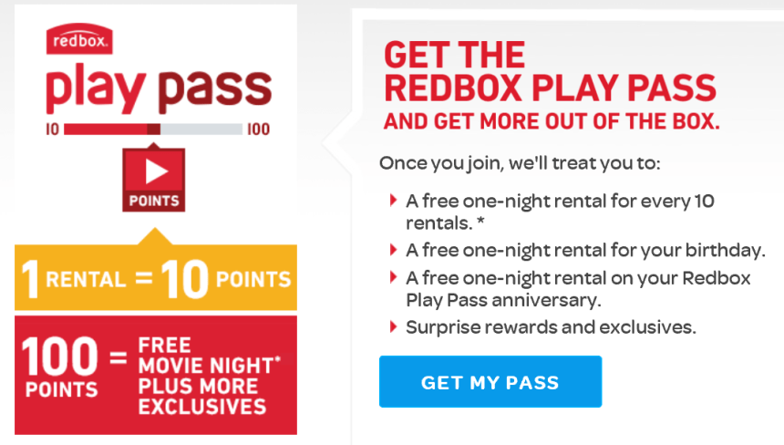 Redbox Play Pass free movie