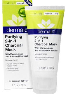 GRATIS mascara para la cara, Derma e Purifying 2-in-1 Charcoal Mask