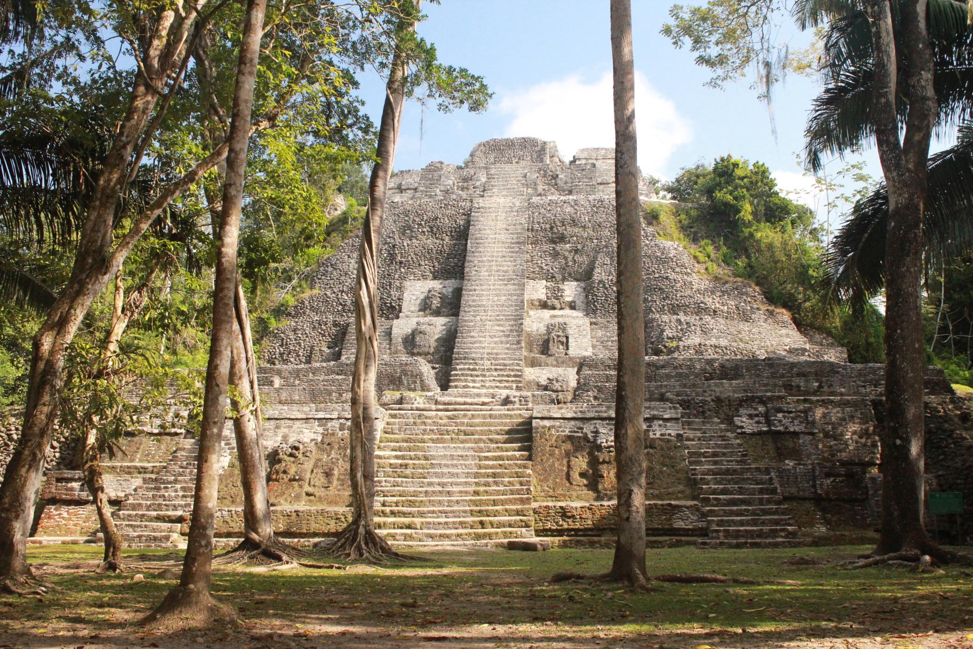 Lamanai - High Temple