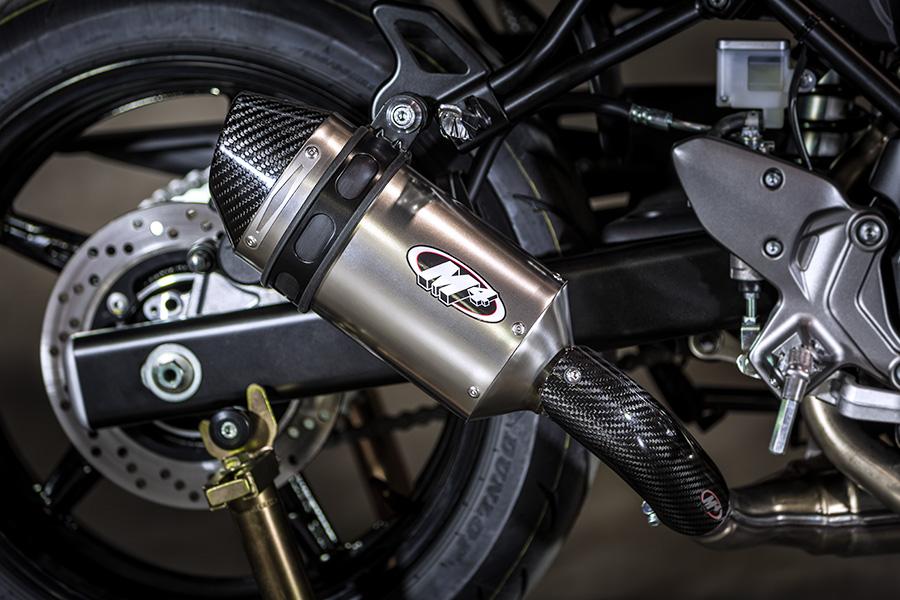 m4 exhaust race full system w titanium canister 2017 suzuki sv650 su6696