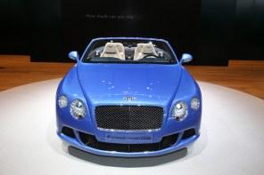 2013 Bentley Continental GT Speed Convertible Gallery