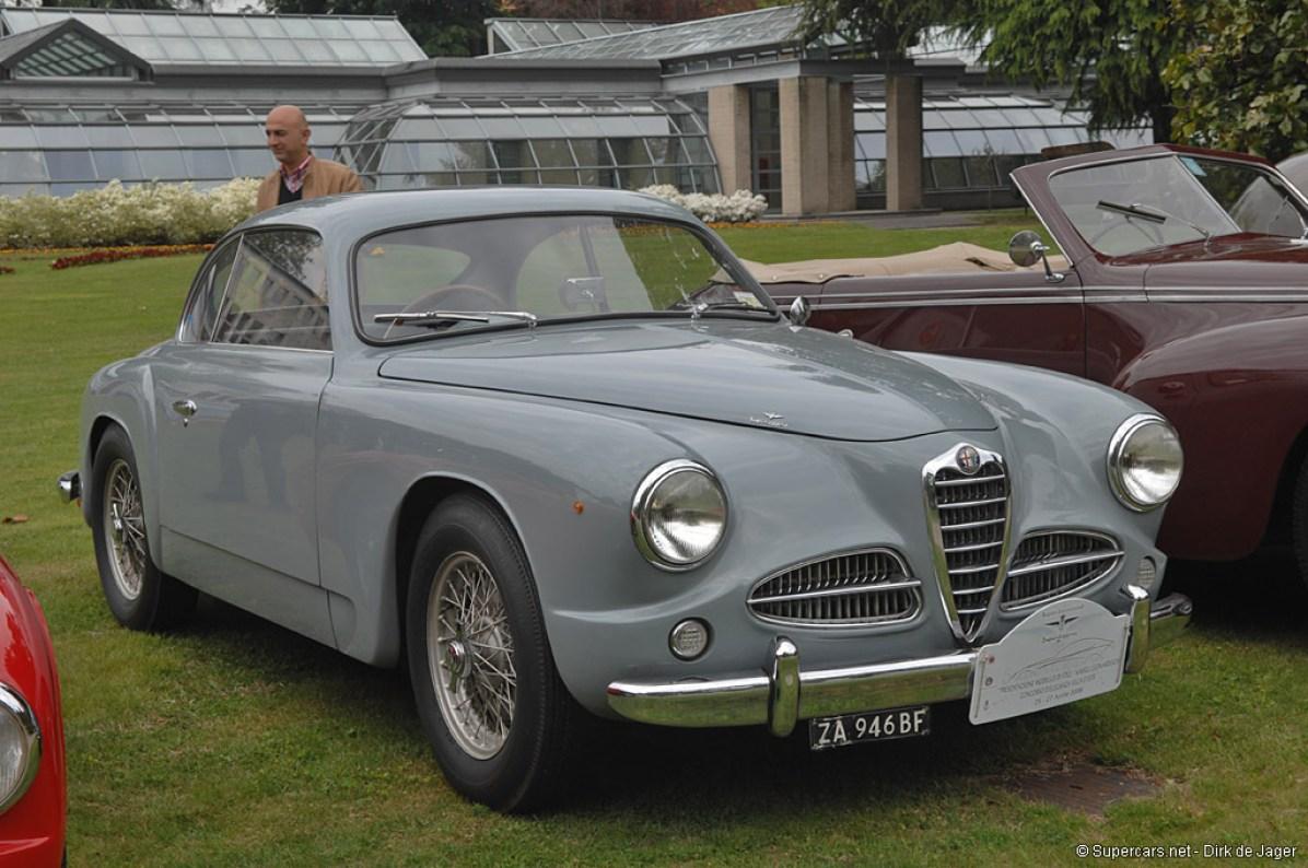 1951→1953 Alfa Romeo 1900 C Sprint
