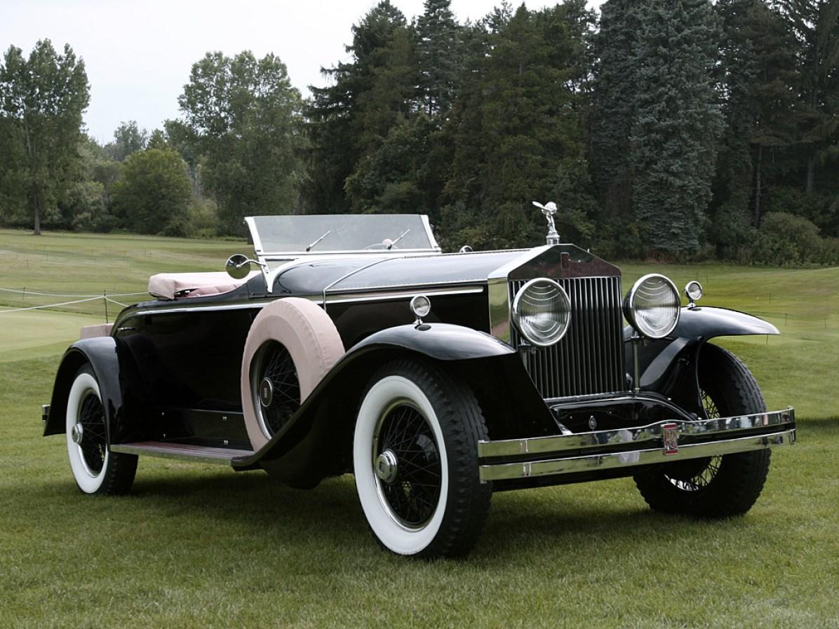 1926→1931 Rolls-Royce Springfield Phantom I