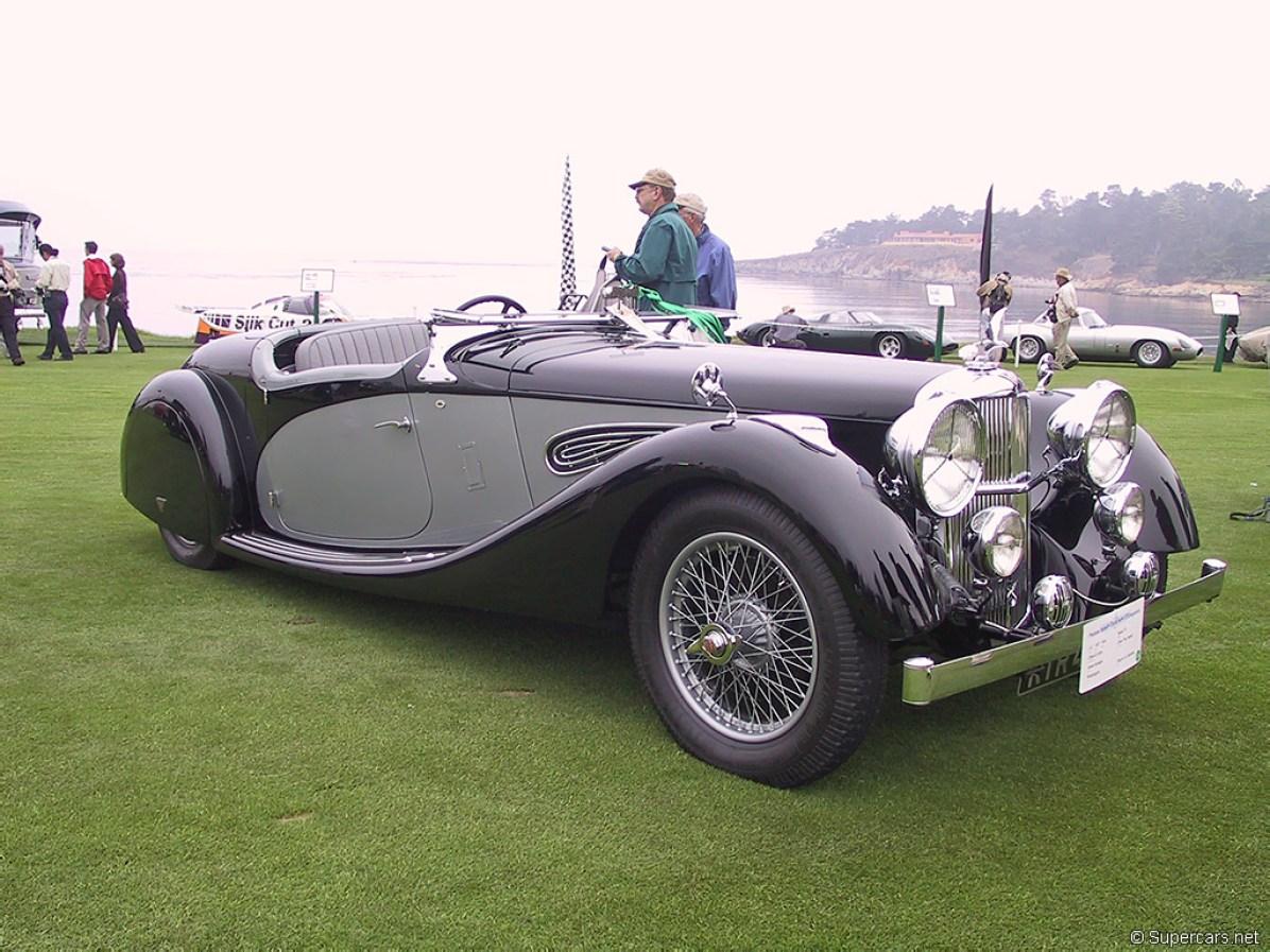 1936 Alvis Speed 25