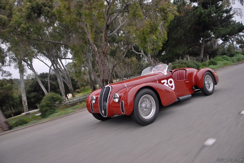 1939 Alfa Romeo 6C 2500 SS Spider Corsa