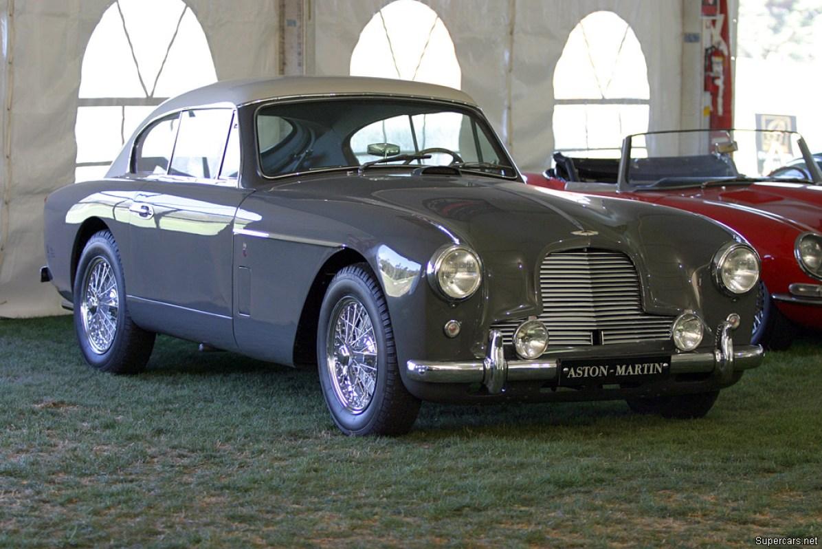 1955→1957 Aston Martin DB2/4 Mark II