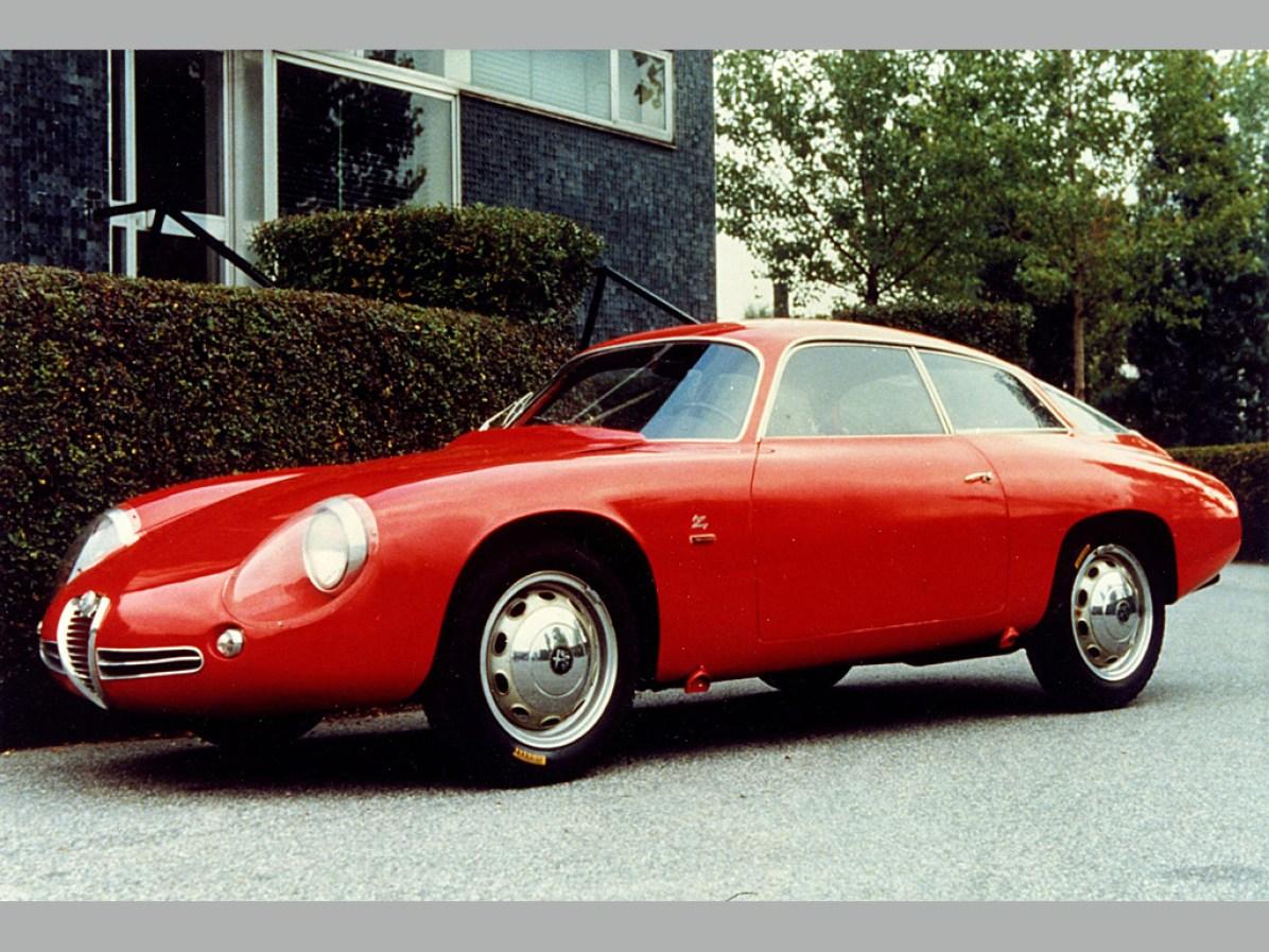 1961 Alfa Romeo Giulietta SZ 'Codatronca'