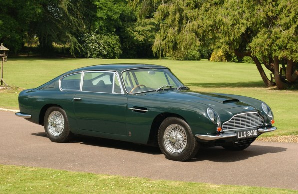 1965→1969 Aston Martin DB6