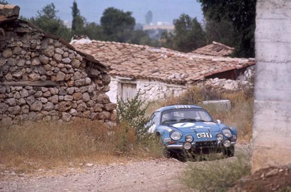 1971 Alpine A110 1600 Group 4