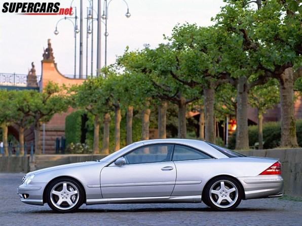 2000 Mercedes-Benz CL55 AMG F1